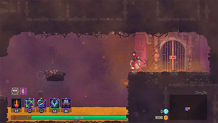 Ancient Sewers is very similar to Toxic Sewers - The Ancient Sewers level in Dead Cell - Game world - Dead Cells Game Guide