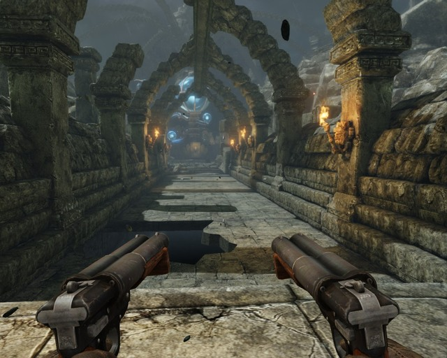 Go slowly through that bridge, its full of scripts. - Mayan Temple - Walkthrough - Deadfall Adventures - Game Guide and Walkthrough
