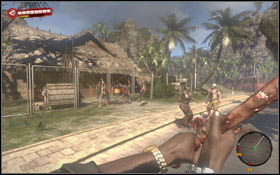 Harnal is located in the west of the resort #1 - Crash; Make Yourself at Home - Sidequests - Dead Island - Game Guide and Walkthrough