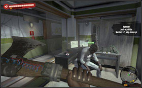 Monroe can be found in the lab (2) in the room with Dr Nguyen in the Block A2 - Deus Ex Machina; Wet Job - Sidequests - Dead Island - Game Guide and Walkthrough
