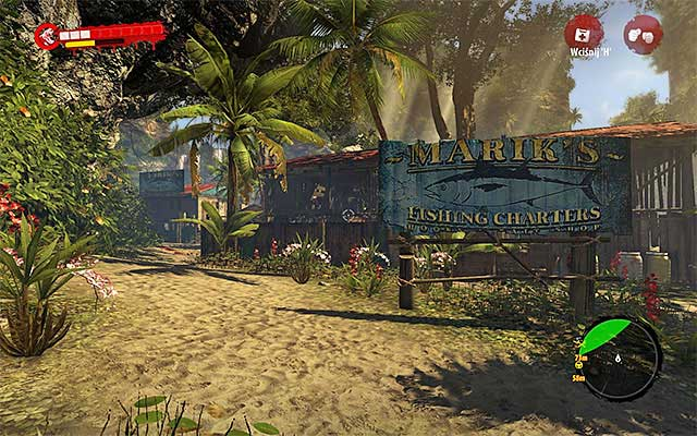 Continue walking to a harbor, choose eastern path on crossroads what takes you to a lower enter of Mariks Marina - Ask about the boat - Chapter 2 - New Beginnings - Dead Island Riptide - Game Guide and Walkthrough