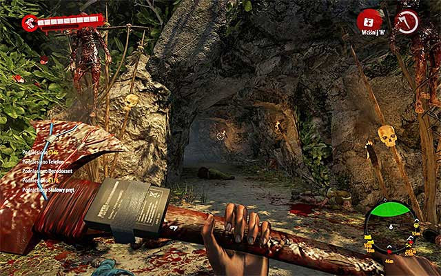 After getting closer, game will marked a northern cave to explore - Collect bark of cinchona tree for Hadisi - Chapter 3 - Natural Resources - Dead Island Riptide - Game Guide and Walkthrough