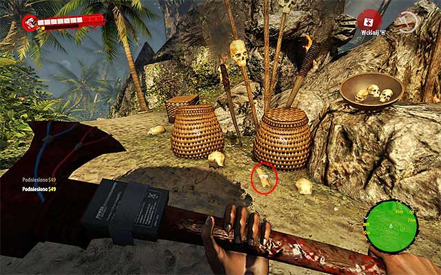 When you get to the temple, search an area around the altar, eliminating Walkers and Infested - Collect bark of cinchona tree for Hadisi - Chapter 3 - Natural Resources - Dead Island Riptide - Game Guide and Walkthrough