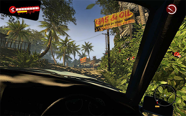 This mission unlocks when you get nearby the Oil Storage, on south from Paradise Survival Camp - Rescue Brian - Side missions - Jungle - Dead Island Riptide - Game Guide and Walkthrough