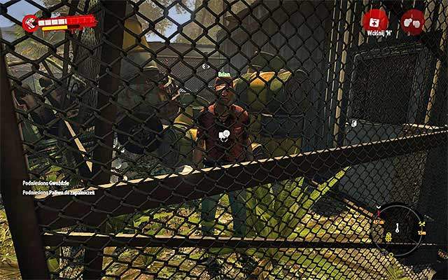 When all zombies are dead, approach the net and talk with Brian - Rescue Brian - Side missions - Jungle - Dead Island Riptide - Game Guide and Walkthrough