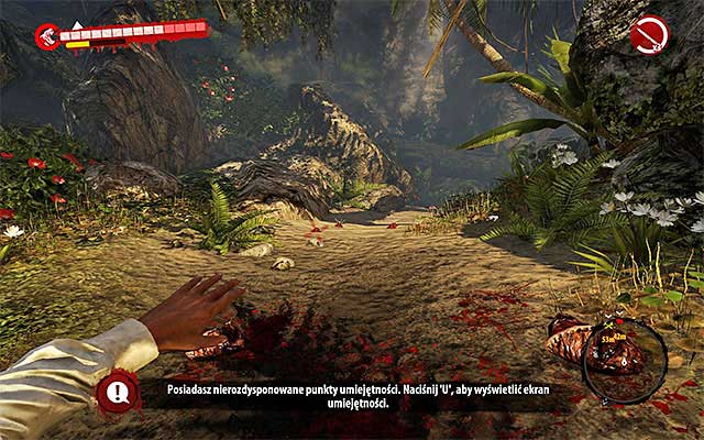 Move forward but turn left at the crossroads - Surplus - Side missions - Jungle - Dead Island Riptide - Game Guide and Walkthrough
