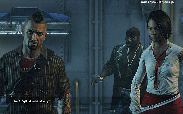 As in the first part of Dead Island you have to make a choice of a character before beginning the game - Choice/import of a character - Dead Island Riptide - Game Guide and Walkthrough