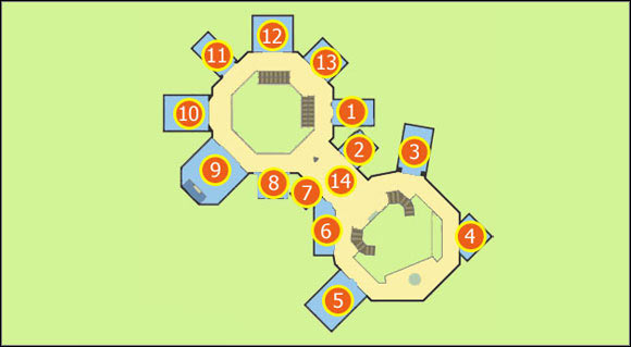 M2: Royal Flush Plaza - 2nd floor | Maps - Dead Rising 2 Game Guide on