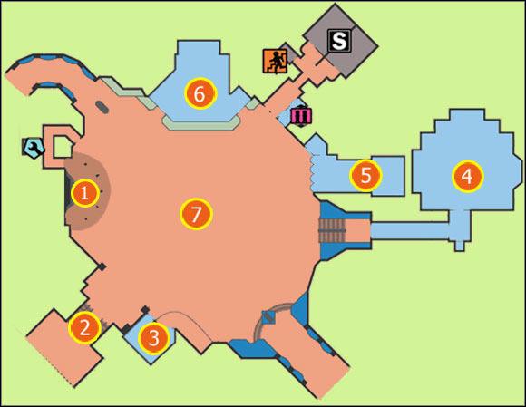 M9: Yucatan   Maps - Dead Rising 2 Game Guide   gamepressure.com on