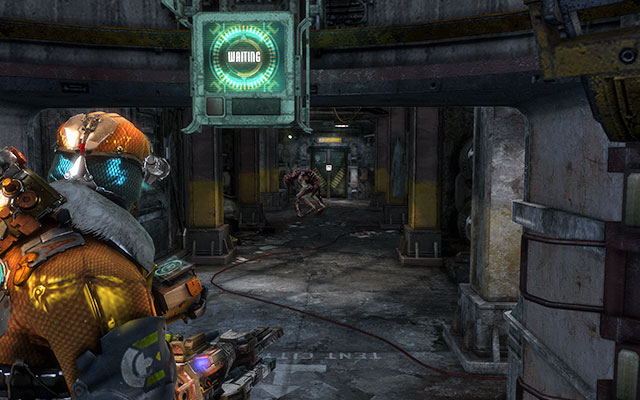 Proceed on and pass a workbench on your way, until you go out again - Collect the Probe components - 11: Signal Hunting - Dead Space 3 - Game Guide and Walkthrough