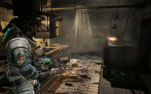 Chapter 9 secrets dead space 3 game guide gamepressure in the kitchen to the right on one of the tabletops chapter 9 malvernweather Image collections