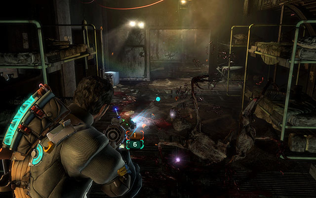 Chapter 9 secrets dead space 3 game guide gamepressure on the floor in the second part of the room where you are attacked by feeders malvernweather Image collections