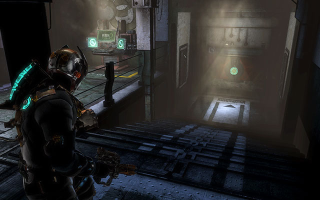 Go down the stairs and head to the unlocked door - Restore power and override the lock-down - Side missions: C.M.S. Greely - Dead Space 3 - Game Guide and Walkthrough