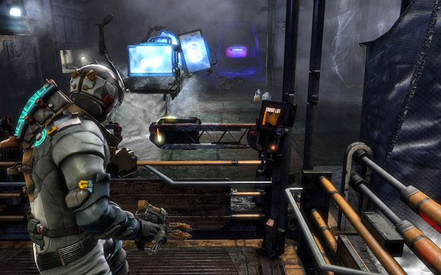 You'll find yourself in the room with many panels - Restore power and override the lock-down - Side missions: C.M.S. Greely - Dead Space 3 - Game Guide and Walkthrough