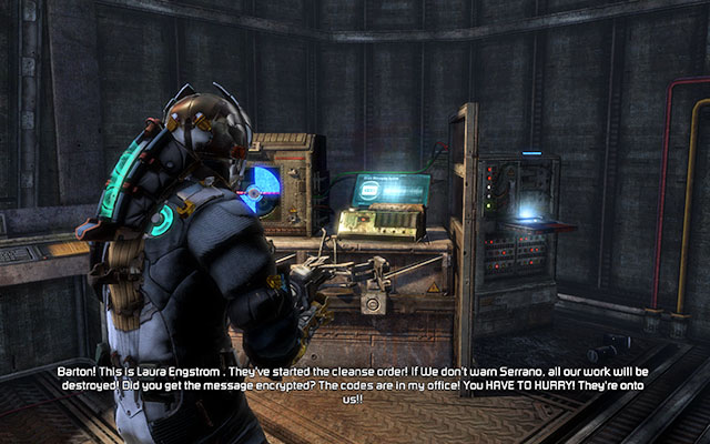 Now you can safely move to the other side - Restore power and override the lock-down - Side missions: C.M.S. Greely - Dead Space 3 - Game Guide and Walkthrough