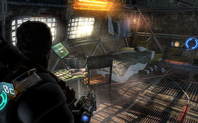 In the first room with a generator - Chapter 8 - Secrets - Dead Space 3 - Game Guide and Walkthrough