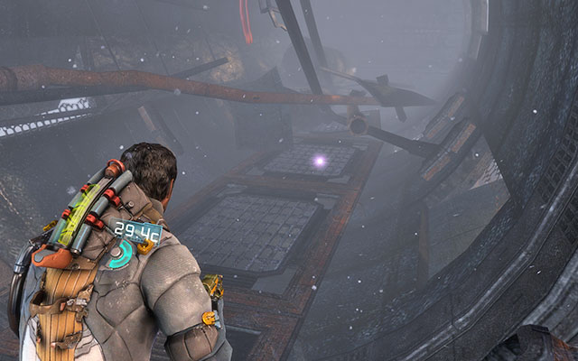 After exiting the cargo elevator and reaching the part looking like a huge pipe, turn right - the circuit is on the nearby catwalk - Chapter 8 - Secrets - Dead Space 3 - Game Guide and Walkthrough