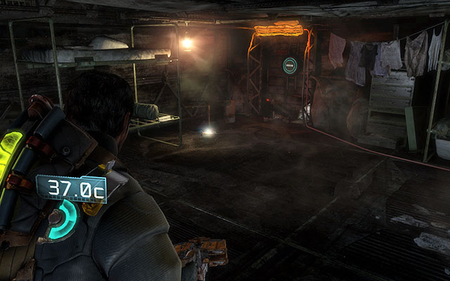 After walking past the large gate, initially inaccessible, you'll get to another room with a generator - Chapter 8 - Secrets - Dead Space 3 - Game Guide and Walkthrough