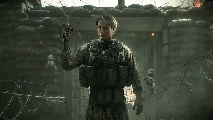 Clifford Unger In Chapter 4 Death Stranding Boss Death
