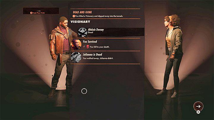 2) Завершение экспедиции / миссии и возврат к экрану подготовки - Игра создает автоматическое сохранение статуса игры, когда отображается итоговый экран последней экспедиции - Deathloop: Сохранение игры - возможно ли?  - FAQ - Гайд по Deathloop