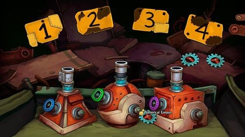 1 - Fix the mine cart - Part 2 - Junk Mine - Deponia - Game Guide and Walkthrough