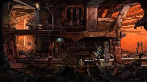 As a result you should have in your inventory Avial, Dorsal and Bi-Nausal Power Inverters - Fix the mine cart - Part 2 - Junk Mine - Deponia - Game Guide and Walkthrough