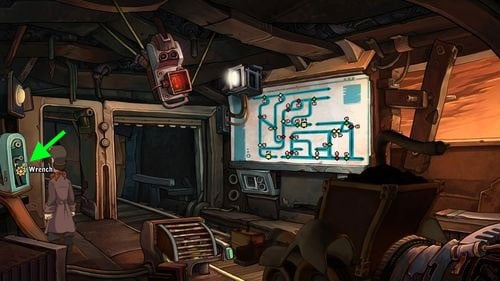 Go to the control center upstairs - Place Goal in the mine cart - Part 2 - Junk Mine - Deponia - Game Guide and Walkthrough