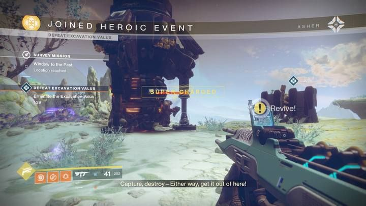 Heroic Public Events | Navigation and activieties - Destiny 2 Game