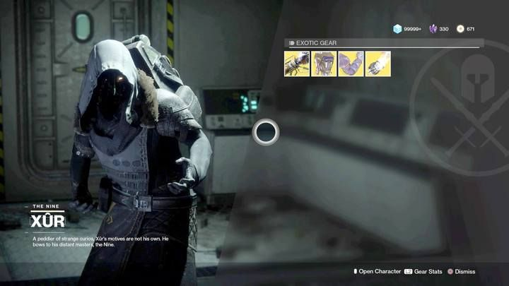Xur offers exotic items - which are not always for your class ... - Merchant Xur | Navigation and activieties - Navigation and activieties - Destiny 2 Game Guide