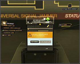 2) Disabling the signal jammer - Deus Ex: Human Revolution Game