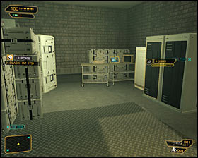 Regardless of your decisions, you have to watch out for the enemies in this area - Cloak & Daggers (steps 8-9) - Side quests - Deus Ex: Human Revolution - Game Guide and Walkthrough