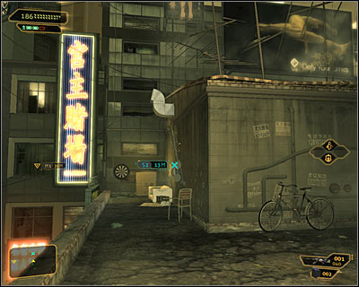 Turn left once you're on the roof and approach the first communication relay which should be directly in front of you (screen above) - Bar Tab (steps 1-4) - Side quests - Deus Ex: Human Revolution - Game Guide and Walkthrough