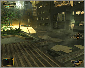 Remain on the roofs (level three) and head north, using the stairs along the way #1 - Bar Tab (steps 1-4) - Side quests - Deus Ex: Human Revolution - Game Guide and Walkthrough