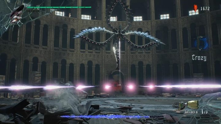 Artemish has several attacks that he can make life unpleasant - Artemish Boss Fight Guide for DMC5 - Bosses - Devil May Cry 5 Guide