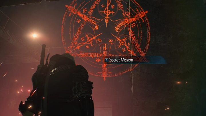 If you want, you can go down to form a circle and discover the Secret Mission 02 - Mission 03 - Flying Hunter | Devil May Cry 5 walkthrough - Main story missions - Devil May Cry 5 Guide