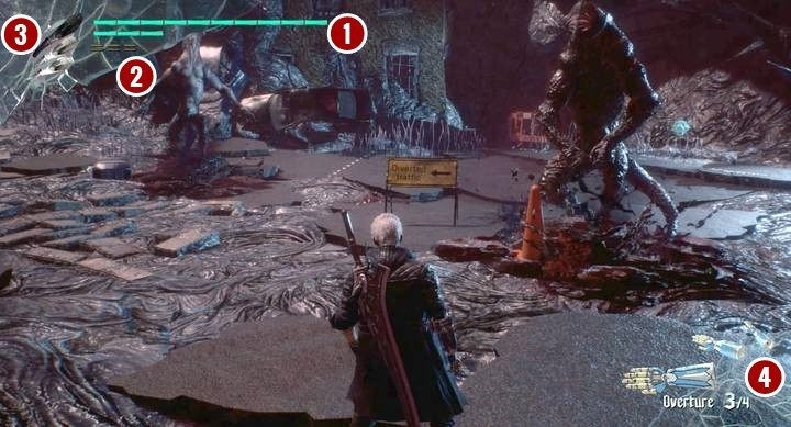 Every characters have individual skills or abilities bound to some keys - Nero Interface and Additional Controls in Devil May Cry 5 - Nero - Devil May Cry 5 Guide