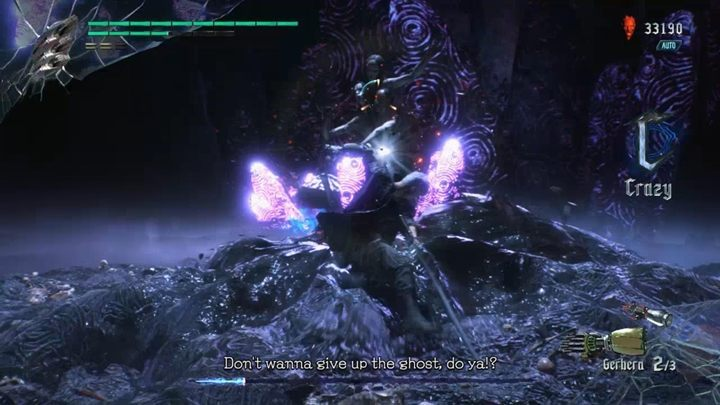 When you deal a little damage to Malphas, her horse will fall unconscious and youll have a minute to deal a lot of damage to the boss - Malphas Boss Fight Guide for DMC5 - Bosses - Devil May Cry 5 Guide
