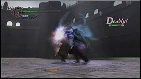 Sanctus is very easy to beat - Mission 11: The Ninth Circle - WALKTHROUGH - Devil May Cry 4 - Game Guide and Walkthrough