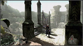In Ruined Church Area destroy Assaults and go beneath stairs to Lost Woods - Mission 8: Profession of Faith - Missions - Devil May Cry 4 (PC) - Game Guide and Walkthrough