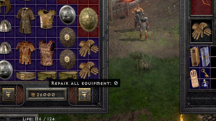 Ремонт не стоит дорого и не требуется слишком часто - Diablo 2 Resurrected: Broken weapon - как отремонтировать?  - FAQ - Руководство по Diablo 2 Resurrected