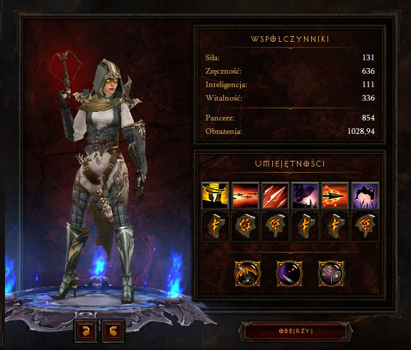 Build example | Demon Hunter - Diablo III Game Guide | gamepressure.com