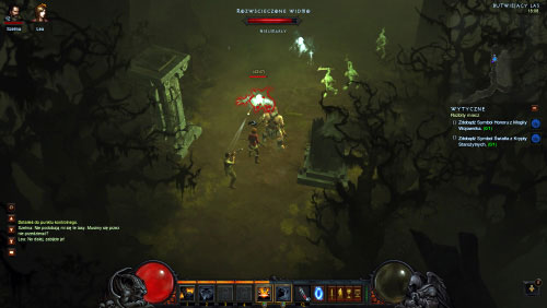 The Festering Woods are a rather large location and aside from the well-known monsters you'll also encounter several new types of creatures here - The Broken Blade - Quests - Diablo III - Game Guide and Walkthrough