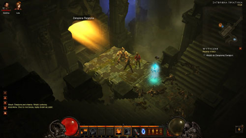 Head down to meet with Alaric - The Broken Blade - Quests - Diablo III - Game Guide and Walkthrough