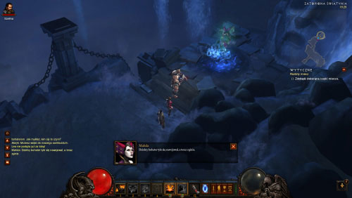 Notice that a nearby passageway was opened - The Broken Blade - Quests - Diablo III - Game Guide and Walkthrough