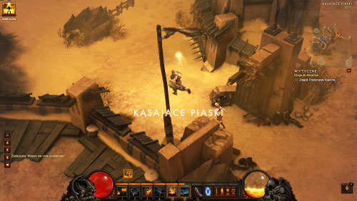 Your main objective is to find Khasim Outpost and sadly you can't get there simply by using the main path, because it's blocked - The Road to Alcarnus - Quests - Diablo III - Game Guide and Walkthrough