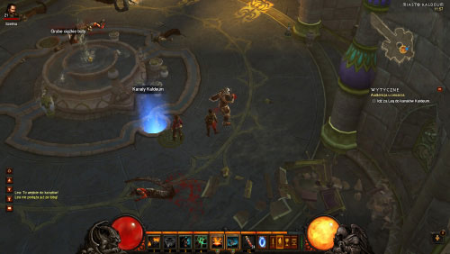 Once you've destroyed all Demon Summoners you will be allowed to resume your journey - A Royal Audience - Quests - Diablo III - Game Guide and Walkthrough