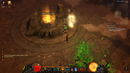Zoltun Kulle will activate the last portal and you must use it to travel to the Archives of Zoltun Kulle - The Black Soulstone - Quests - Diablo III - Game Guide and Walkthrough