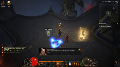 Start running forward and make a stop once you've located a new waypoint - The Black Soulstone - Quests - Diablo III - Game Guide and Walkthrough
