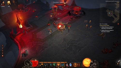 You must be very careful, because it's very dangerous here - The Black Soulstone - Quests - Diablo III - Game Guide and Walkthrough