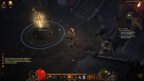 The depths are a large location and your objective is to reach the opposite end of the map where you'll have to open a Shadow Lock - The Black Soulstone - Quests - Diablo III - Game Guide and Walkthrough